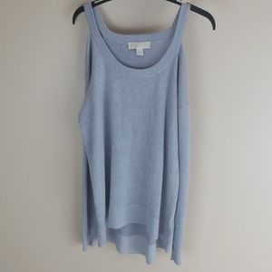 Michael Kors cold shoulder sweater new no tags